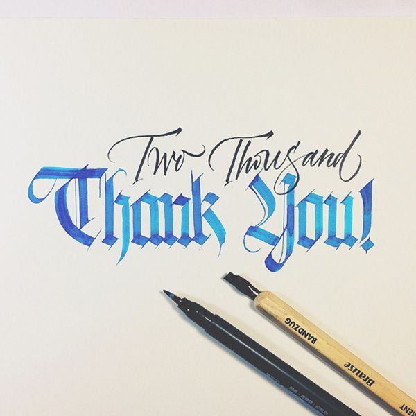 Just For Fun Calligraphy by Joan Quirós | Abduzeedo Design Inspiration