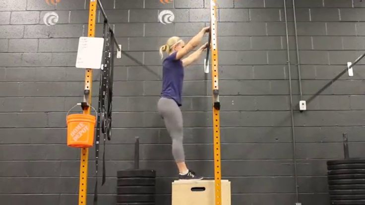Bar Muscle Ups - Box
