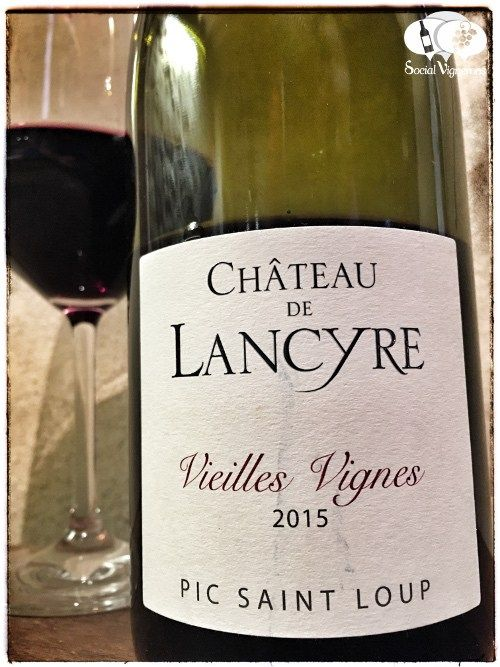 Score 91/100 Wine review, tasting notes, rating ofCh de Lancyre Pic St Loup Old Vines. Description of aroma, palate profile, flavors. Join the experience.