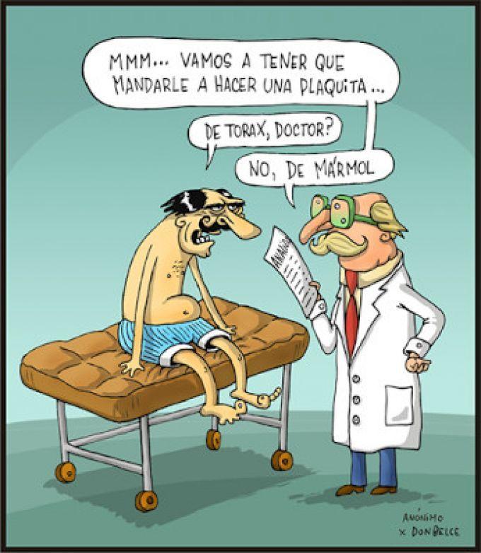 Sinceridad médica. Más en http://www.lasfotosmasgraciosas.com/medicos.html