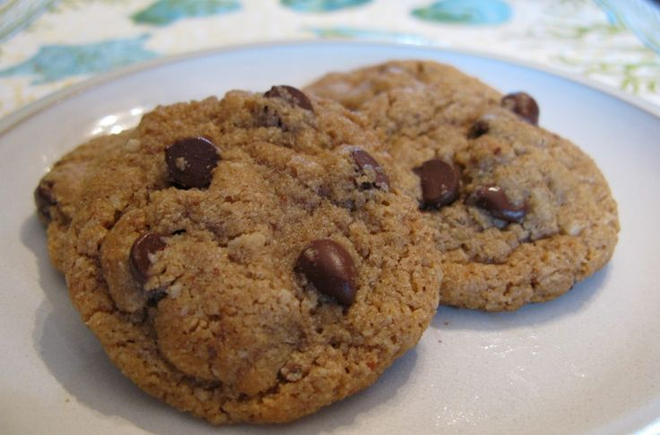 Almond Butter Chocolate Chip Cookies - The Paleo Mom