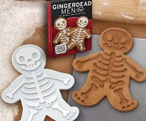 dead gingerbread men - Halloween Gingerbread Cookies