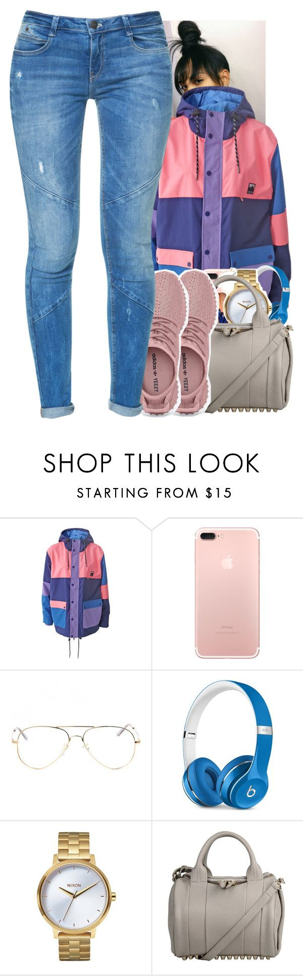 """Untitled #1777"" by toniiiiiiiiiiiiiii ❤ liked on Polyvore featuring Lazy Oaf, Beats by Dr. Dre, Nixon, Alexander Wang and Zara"
