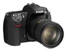 Tangents Nikon D300 custom settings