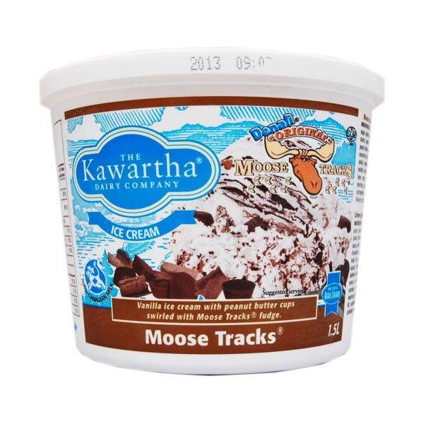 The Kawartha Dairy Company - Moose Tracks Ice Cream  This stuff is TOO good.