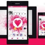 Download eXPERIAnZ Love Theme for Xperia non rooted devices