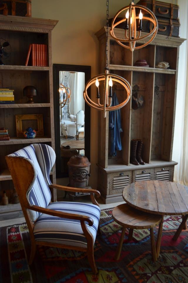 Mueble perchero y mesas pinotea muebles rusticos pinterest for Muebles baena