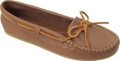 Minnetonka Smooth Leather Moc - Brown: Lookbook, Minnetonka Smooth, Fashion, Leather Moc, Smooth Leather, Brown, Things, Wear