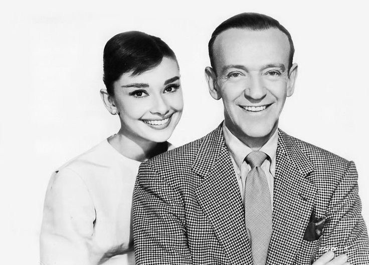 fred astaireFunny Face Audrey Hepburn Fred Astaire