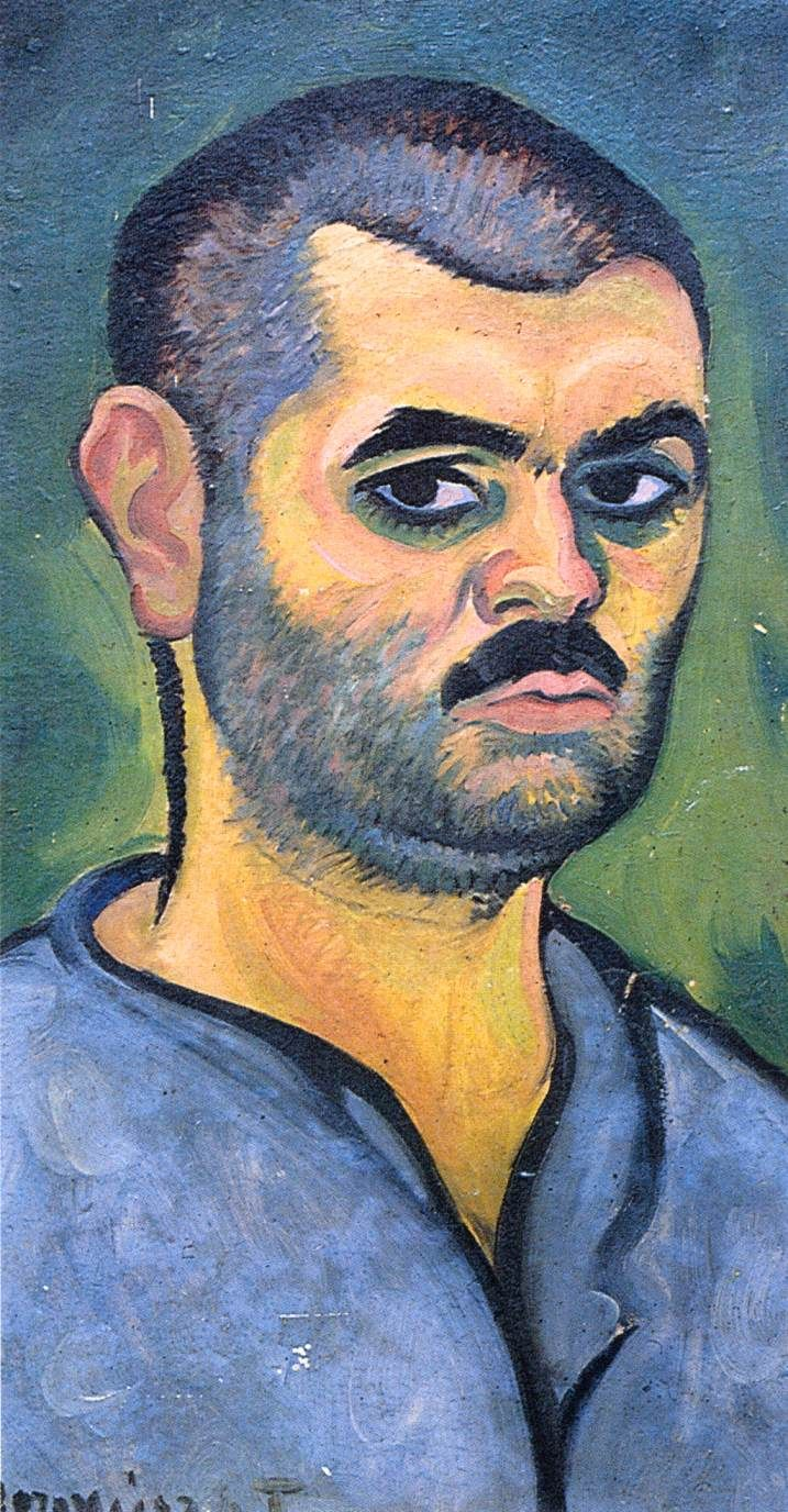 Tibor Boromisza - Self Portrait