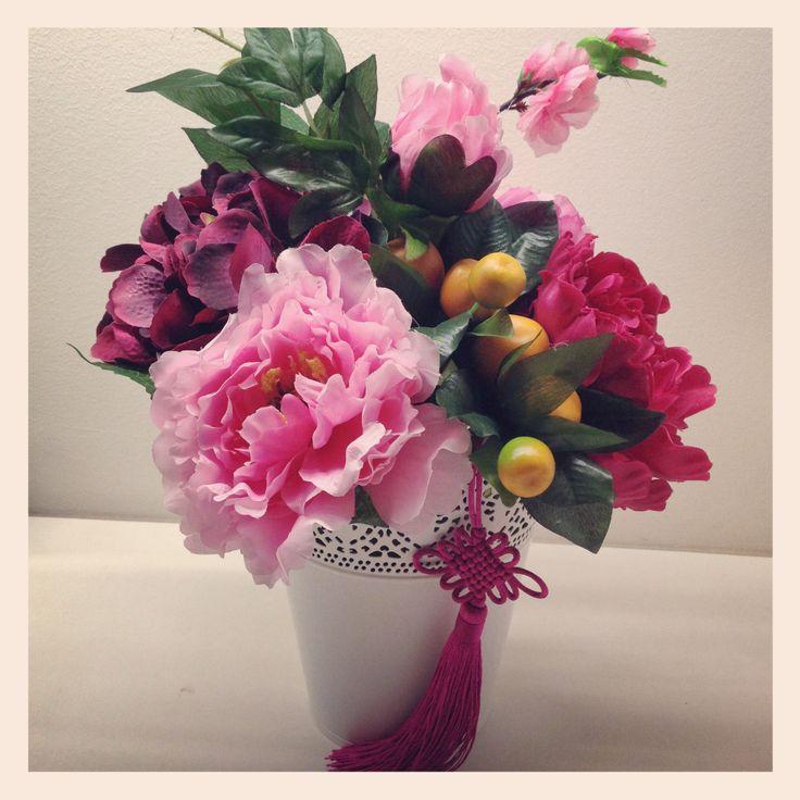 chinese flower arrangement - photo #40