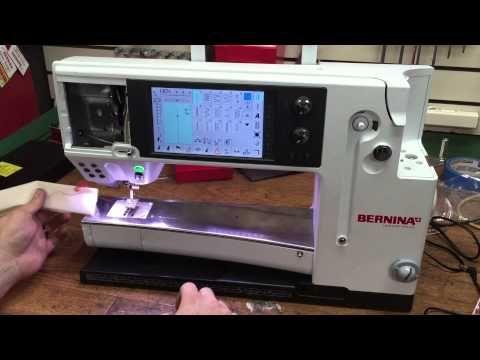 Bernina 830 or 880 Thread Nesting Troubleshooting - YouTube