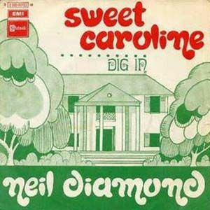 """Sweet Caroline"" by Neil Diamond ukulele tabs and chords. Free and guaranteed quality tablature with ukulele chord charts, transposer and auto scroller."