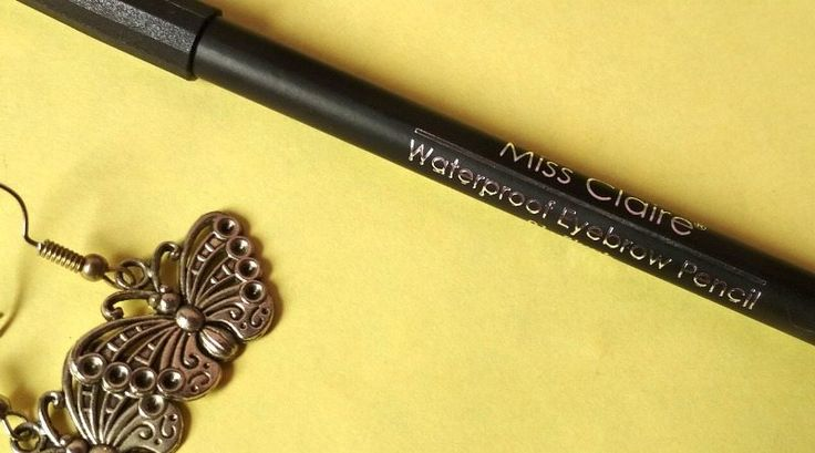 Forgot to thread your eyebrows before the party?  Time to bring out the eyebrow fillers! #missclaire 3eyebrow #eyebrowpencil #browpencil #browMiss Claire Waterproof Eyebrow Pencil Review https://www.glossypolish.com/miss-claire-waterproof-eyebrow-pencil-review/