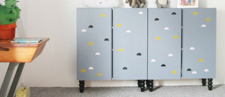 Buy furniture legs for IKEA Ivar wooden cabinets ...