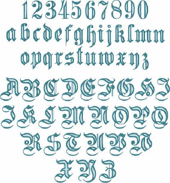 Fabuleux Les 25 meilleures idées de la catégorie Alphabet gothique sur  PR29