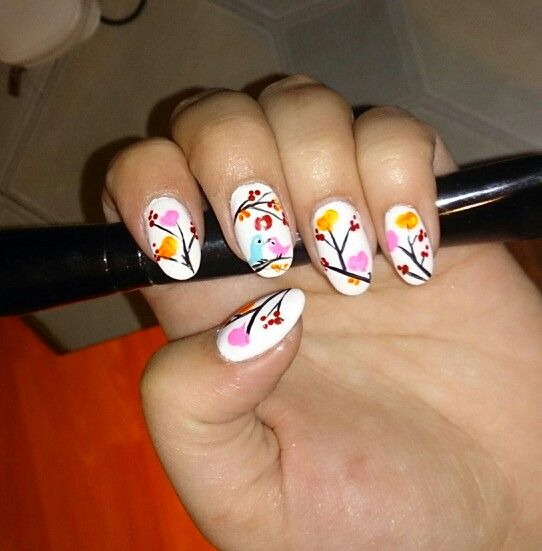 Spring on my nails