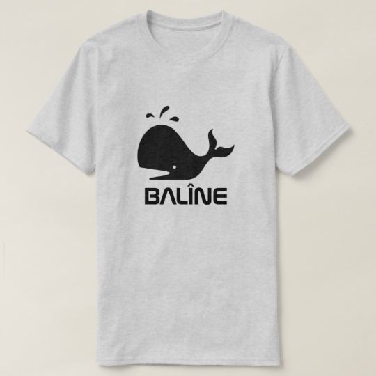 A whale and Kurdish word for whale, balîne, grey T-Shirt A whale font with the Kurdish word balîne that can be translate to whale. An unique and trendy grey t-shirt and can be customized to give it your own unique look. You can change the text type and color, add remove text and or image.