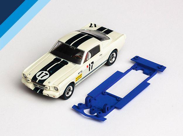 Olifer chassis for  Revell / Monogram Ford Mustang GT350 for Slot.it narrow inline motor mount
