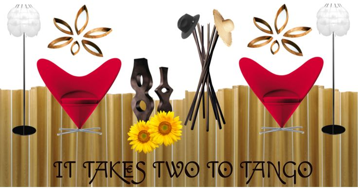 Take a look at the moodboard I created on Designbest. |  #valentinesday #sanvalentino It takes two to tango by Ilaria Triverio