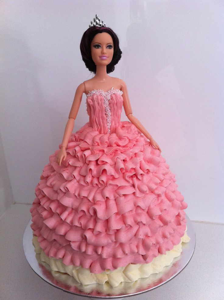 355 Best Creative Barbie Doll Cakes Images On Pinterest Barbie