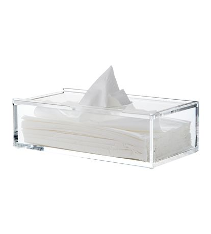 Clear Tissue Box - Beauty & Perfume - Bathroom - Shop by Room - The Conran Shop UK
