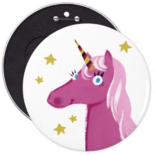 Pink Unicorn pin