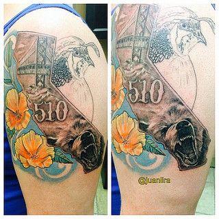 A california bay area tattoo area code 510 oakland and for Bay area tattoo