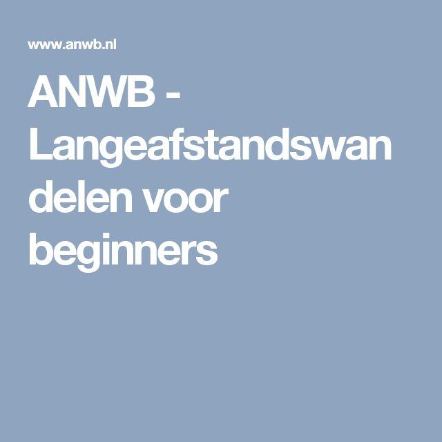 ANWB - Langeafstandswandelen voor beginners