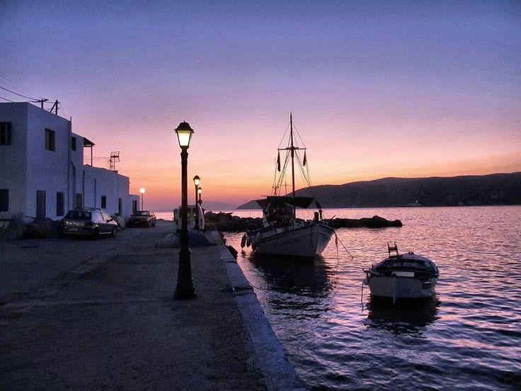 Sunset - Katapola Amorgos