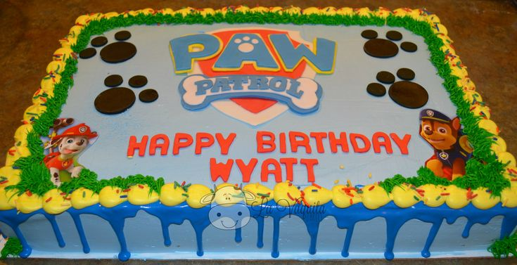 paw patrol. birthday. boys birthday. easy diy cake. puppy. dog. patrol. paw patrol cake. paw patrol party.