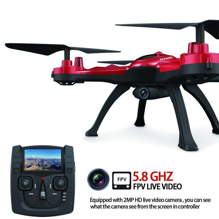 GoolRC T5G 5.8G FPV Drone con 2.0MP HD cámara de vídeo en vivo, una llave de retorno y 3D vueltas RC Cuadricóptero, monterrey, nuevo leon, guadalupe, san pedro, san nicolas, santa catarina, juarez, tienda, electronicos, economico, vendo, remate, lo mejor, venta, mexico, DIY
