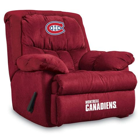 Use this Exclusive coupon code: PINFIVE to receive an additional 5% off the Montreal Canadiens Home Team Recliner at SportsFansPlus.com
