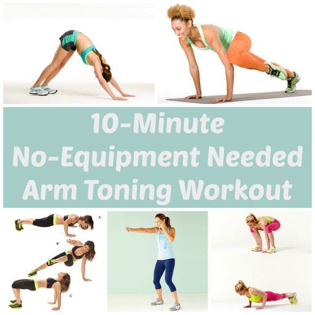 10-Minute, No-Equipment Arm Toning Workout