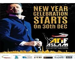 Atif Aslam Concert 30th December 2016 Tickets for Sale in Dubai