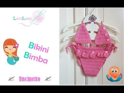 Bikini Bimba - uncinetto - Baby Bikini - crochet-
