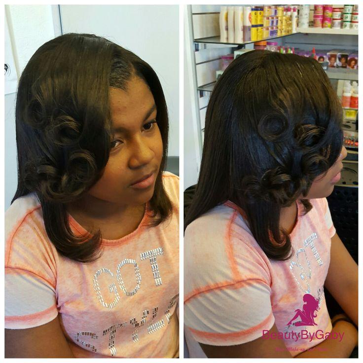 Hairstyle pincurls