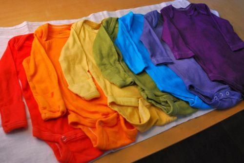 DIY Dyed Onsies