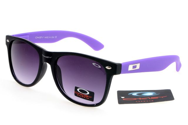 Oakley Womens Glasses wholesale Purple Black--Gray Lens Sales8225 [Ok Sunglass 8225] - $12.97 : Oakley And Rayban Sunglasses