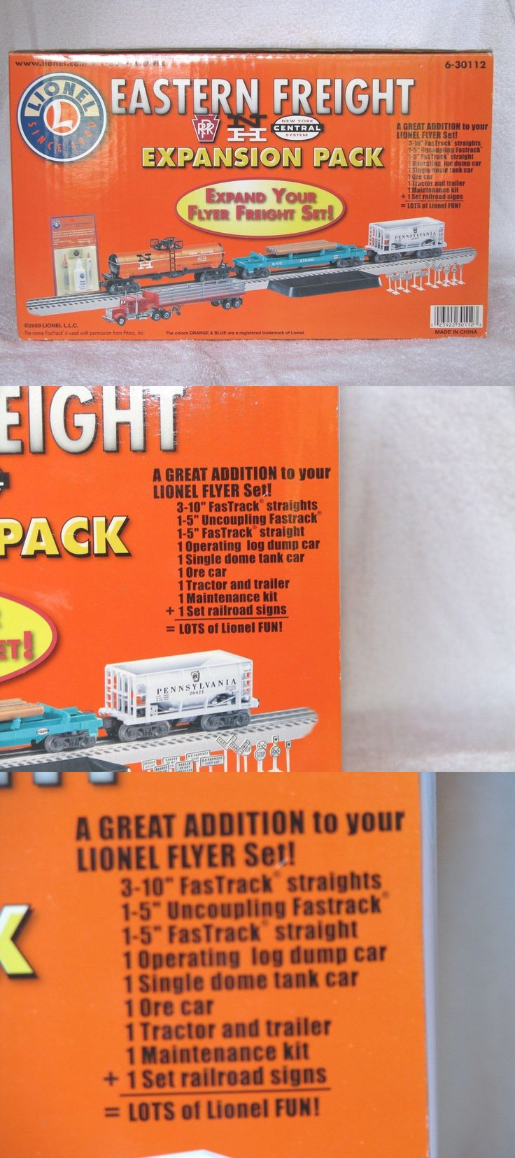 Buildings tunnels and bridges 99807 o lionel 6 30112 freight expansion pack
