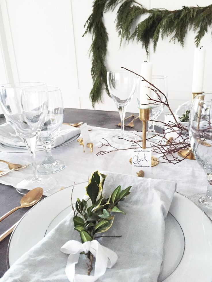 Christmas Tablescape | ineverything.ca