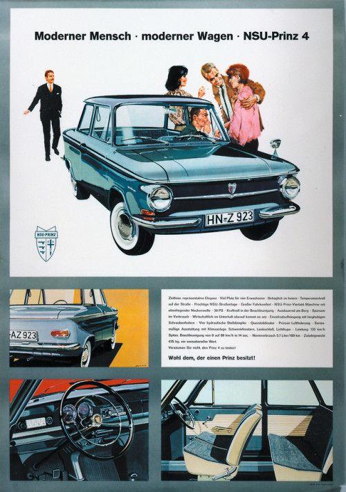 Nsu Prinz 4 1963 The Best Selling Nsu Carwith625171 Being Car