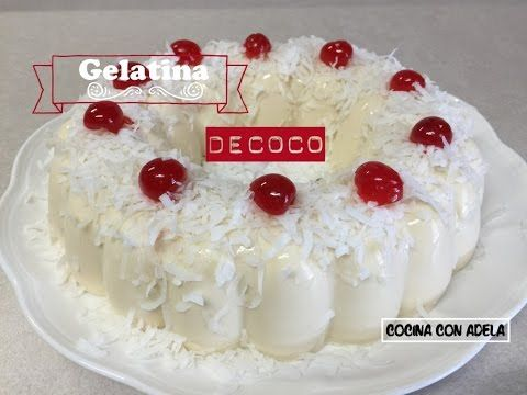17 best images about gelatinas on pinterest pastel for Cocina con carmen youtube