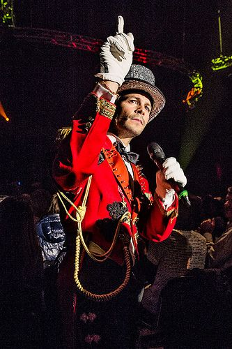 Rock Circus Premiere with Stéphane Lambiel