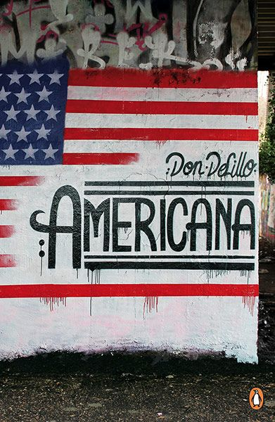 Americana by Don DeLillo - cover by Dr. Jekyll