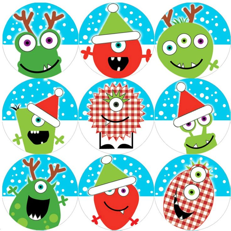 <p>These colourful Christmas Monsters reward stickers are perfect to make a big impression on young learners and can be used with any Reward System.</p>
