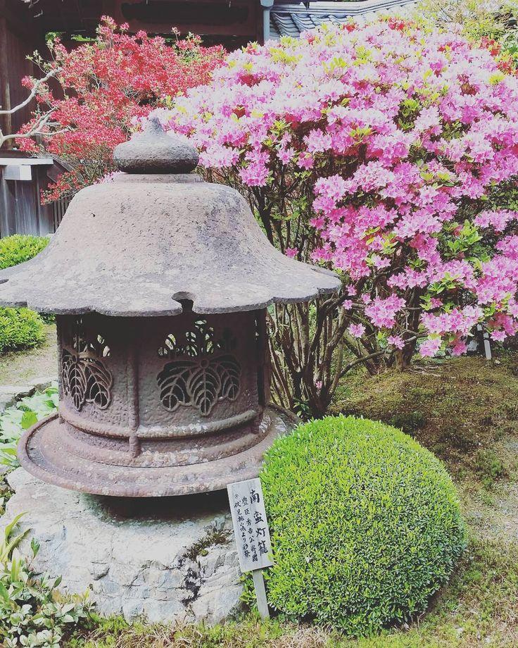 Jakko-in Temple in the little town of Ōhara in Kyōto Prefecture, Japan