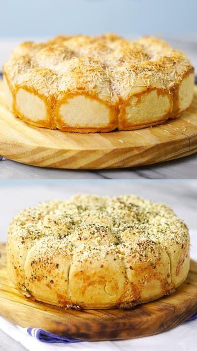 Aprenda preparar 1 pão salgado e 1 pão doce, ideais para dividir com a galera!