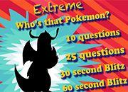 Quien es ese Pokemon Extremo | juegos de Pokemon - jugar online