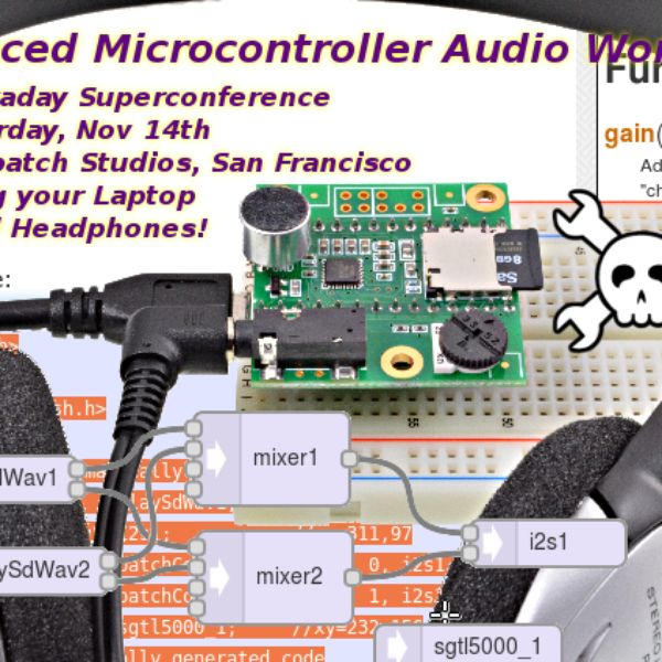 23 best diy electronics for audio installation images on pinterest microcontroller audio workshop had supercon 2015 find this pin and more on diy electronics solutioingenieria Images